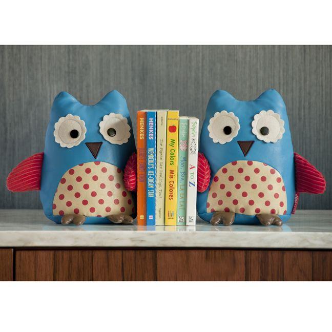 decor zoo bookends set, owl