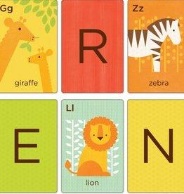 playtime animals a-z alphabet art cards