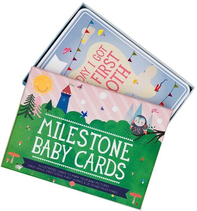 mama milestone baby cards