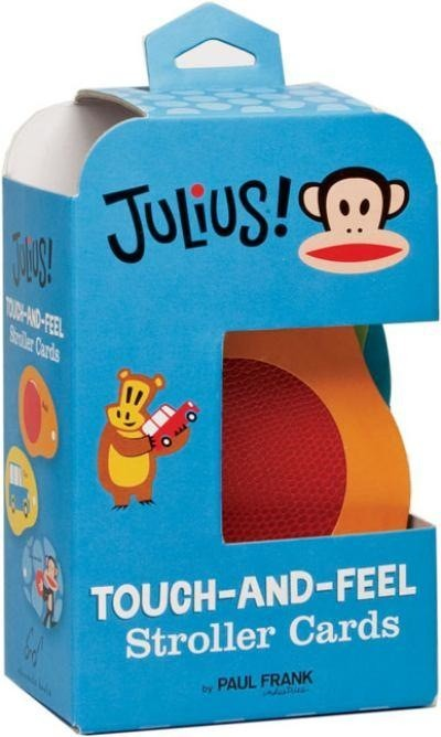 book Julius! Touch and Feel Cards