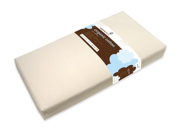 furniture naturepedic lightweight organic cotton classic 2-stage crib mattress