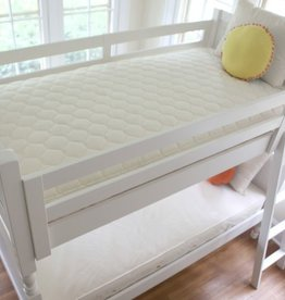 furniture naturepedic organic cotton 2 in 1 ultra twin mattress