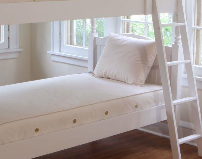 furniture naturepedic organic cotton 2 in 1 ultra twin mattress