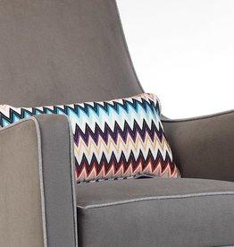 furniture Monte lumbar pillow in Missoni