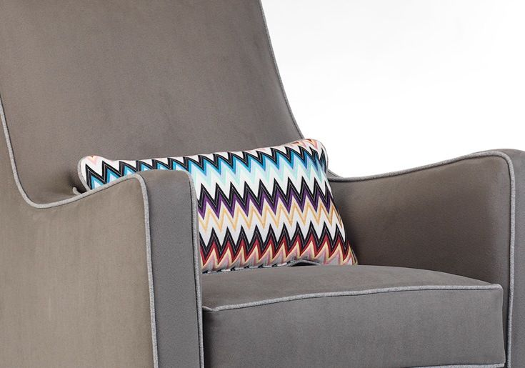 furniture Monte lumbar pillow, missoni