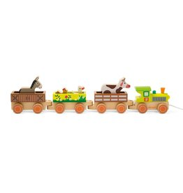 playtime barnyard baby train