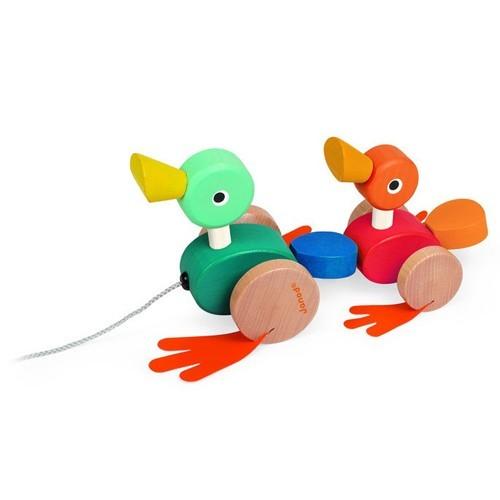 playtime duck family pull along