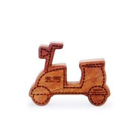 playtime wooden teething rattle