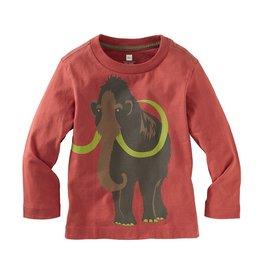 little boy woolly mammoth tee, 12-18m