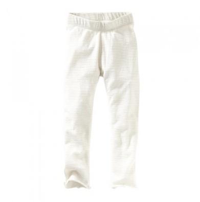 little girl sparkle stripe leggings, milk 12-18m