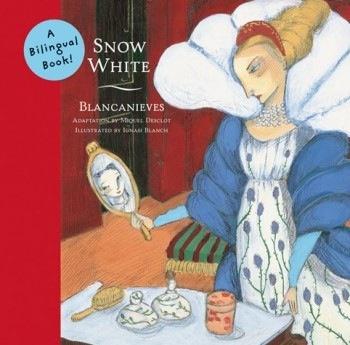 book snow white/blancanieves