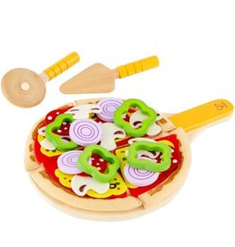 playtime Hape homemade pizza