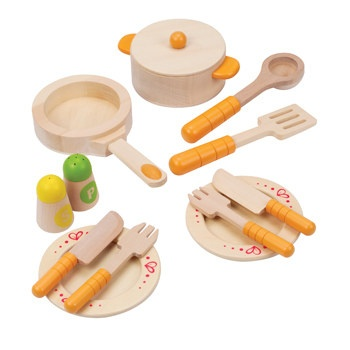 playtime Hape gourmet kitchen starter set