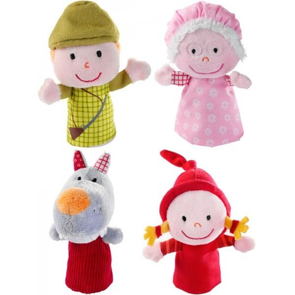 baby red riding hood finger puppets