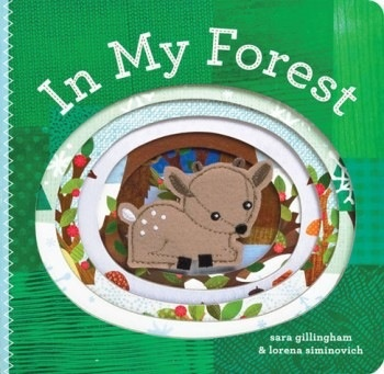 book in my forest: finger puppet book