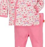 baby girl magnificent baby love birds 3 pc kimono set
