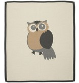 functional accessory lucky jade ivory owl blanket