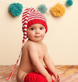 fashion accessory lucy striped baby beanie, small
