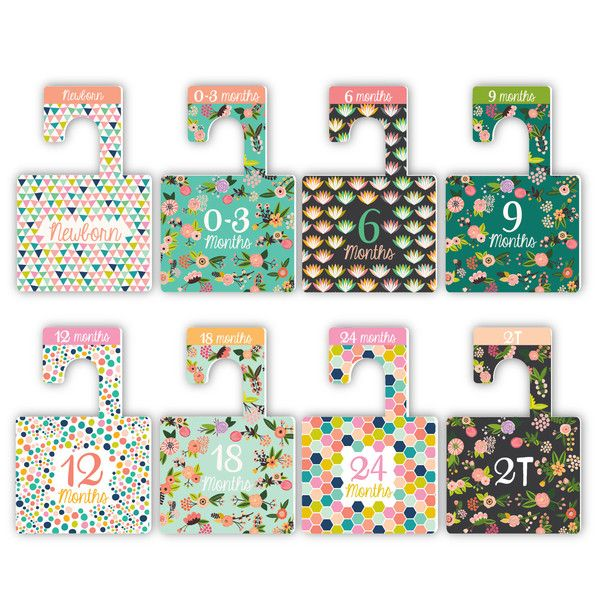 functional accessory closet dividers (more colors)