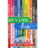 playtime dynamic duo colored pencils