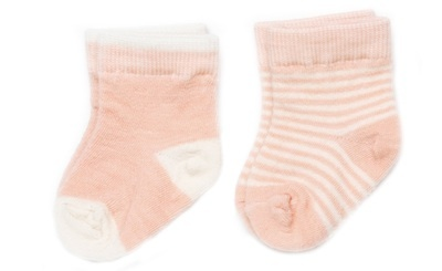 functional accessory nui organics merino infant socks 2 pack (more colors)