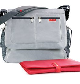 functional accessory Skip Hop tech messenger bag