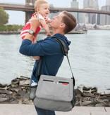 functional accessory Skip Hop tech messenger bag