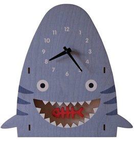 decor modern moose shark pendulum clock