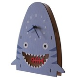 decor modern moose shark pendulum clock