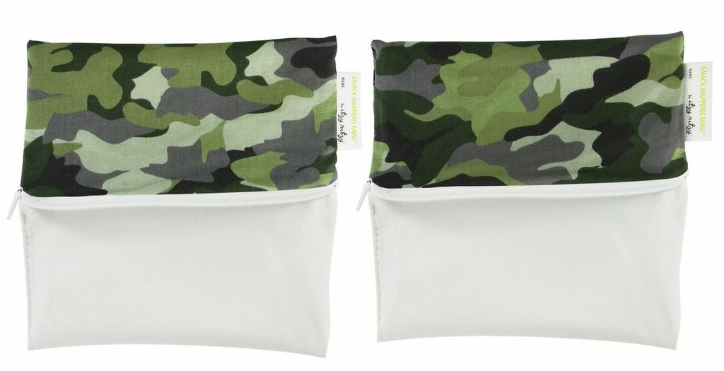 functional accessory Snack Happens Mini reusable bag 2-pack
