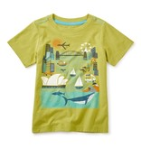 master tea collection sydney harbor graphic tee
