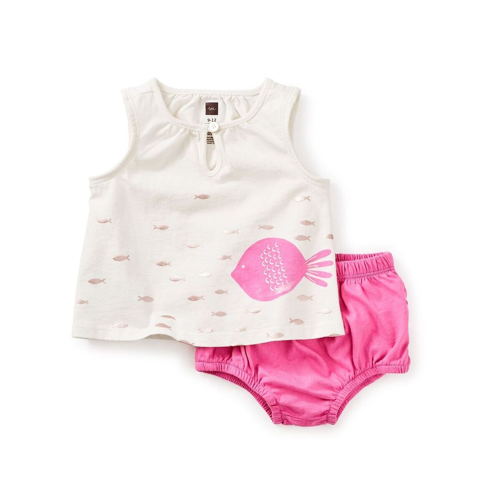little girl mallacoota baby outfit