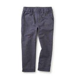 little boy tea collection windowpane traveler trousers