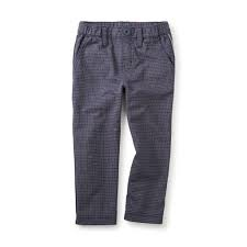 little boy tea collection windowpane traveler trousers