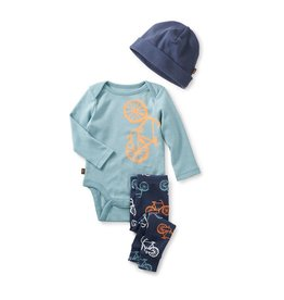 master tea collection cycle baby outfit