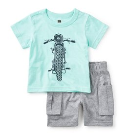 master tea collection throttle baby outfit