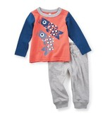 little boy tea collection tako baby outfit