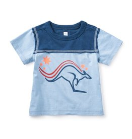 master tea collection roo graphic baby tee