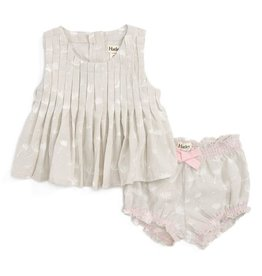 baby girl pin tuck top & bloomers