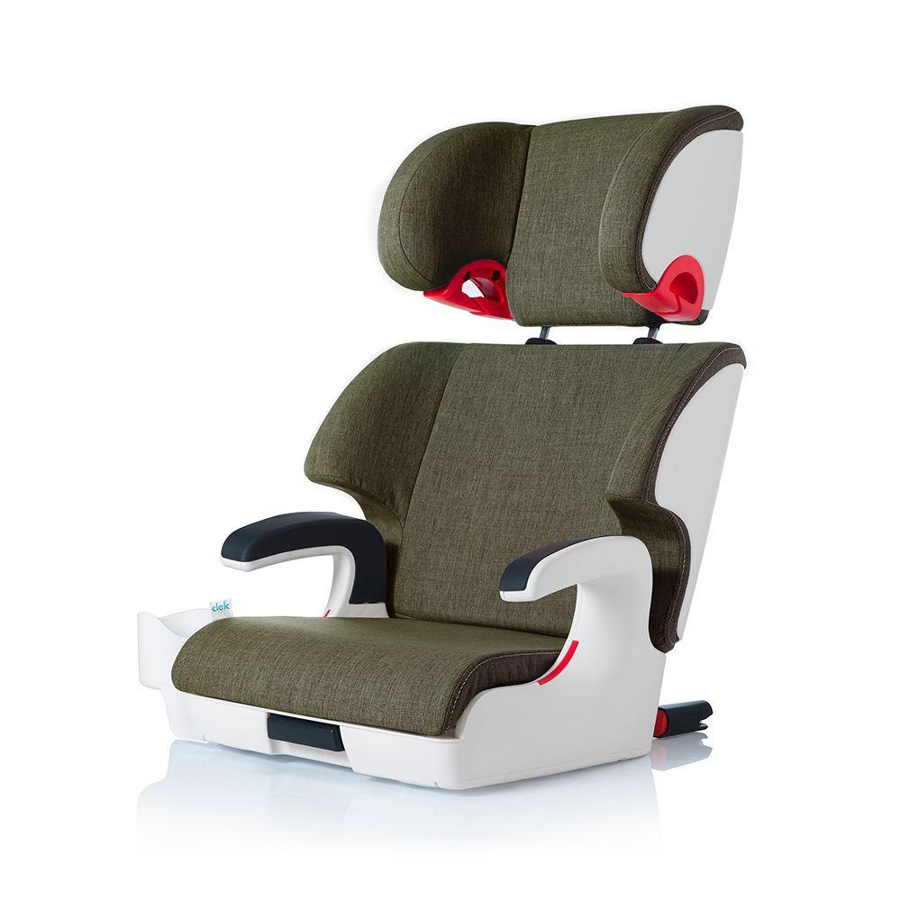 gear 2017 Clek oobr fullback booster seat (white base)