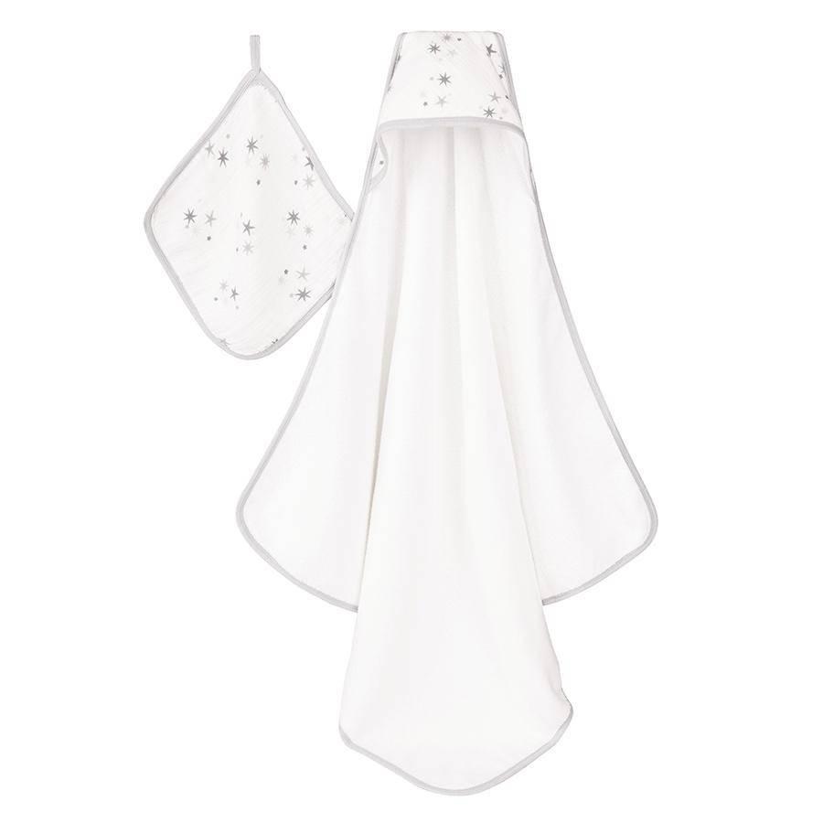 bath aden + anais hooded towel set