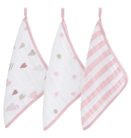bath aden + anais washcloth set