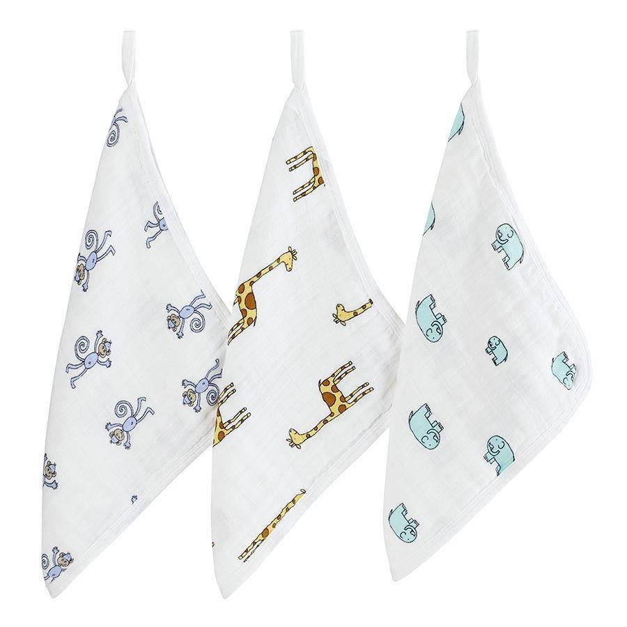 bath aden + anais washcloth set