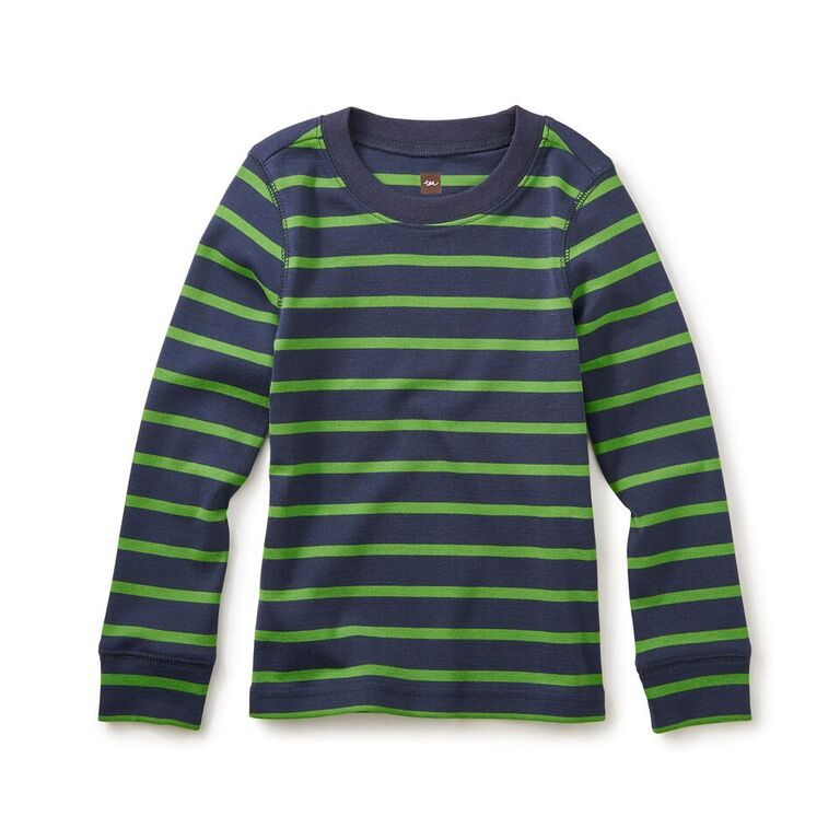 boy striped purity tee