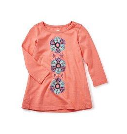 little girl kyla graphic dress