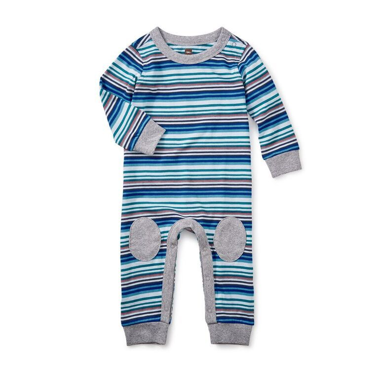 little boy fraser knee patch romper