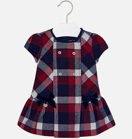 baby girl plaid flannel dress