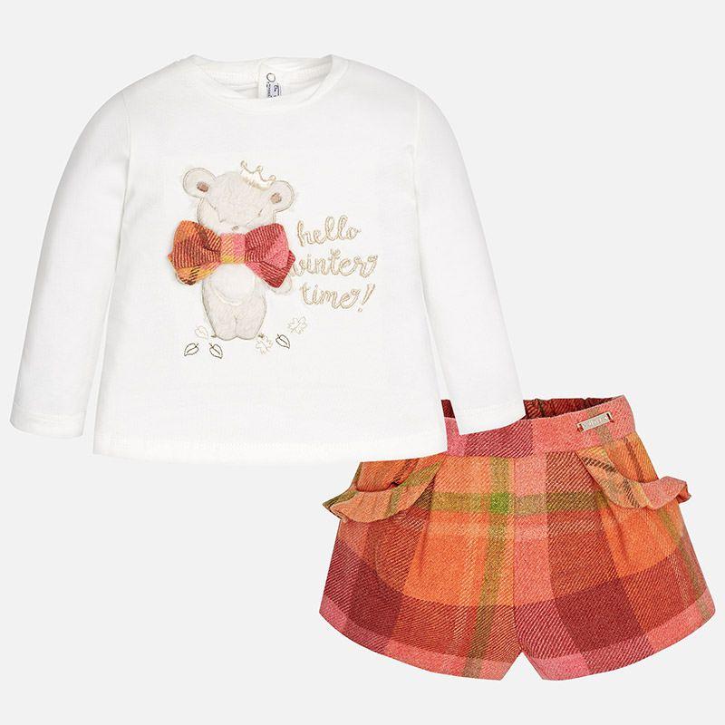 baby *sale* mayoral winter shorts set