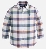 boy l/s checked buttondown