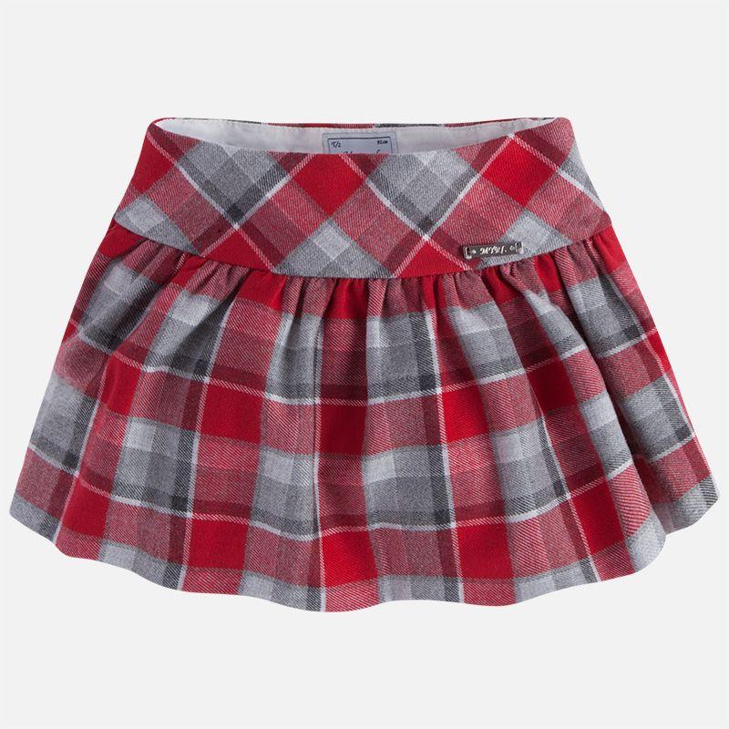 girl plaid skirt